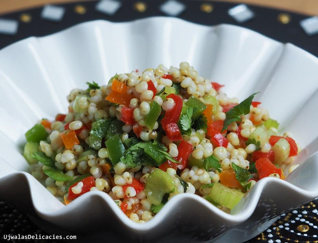 Jowar chaat Salad