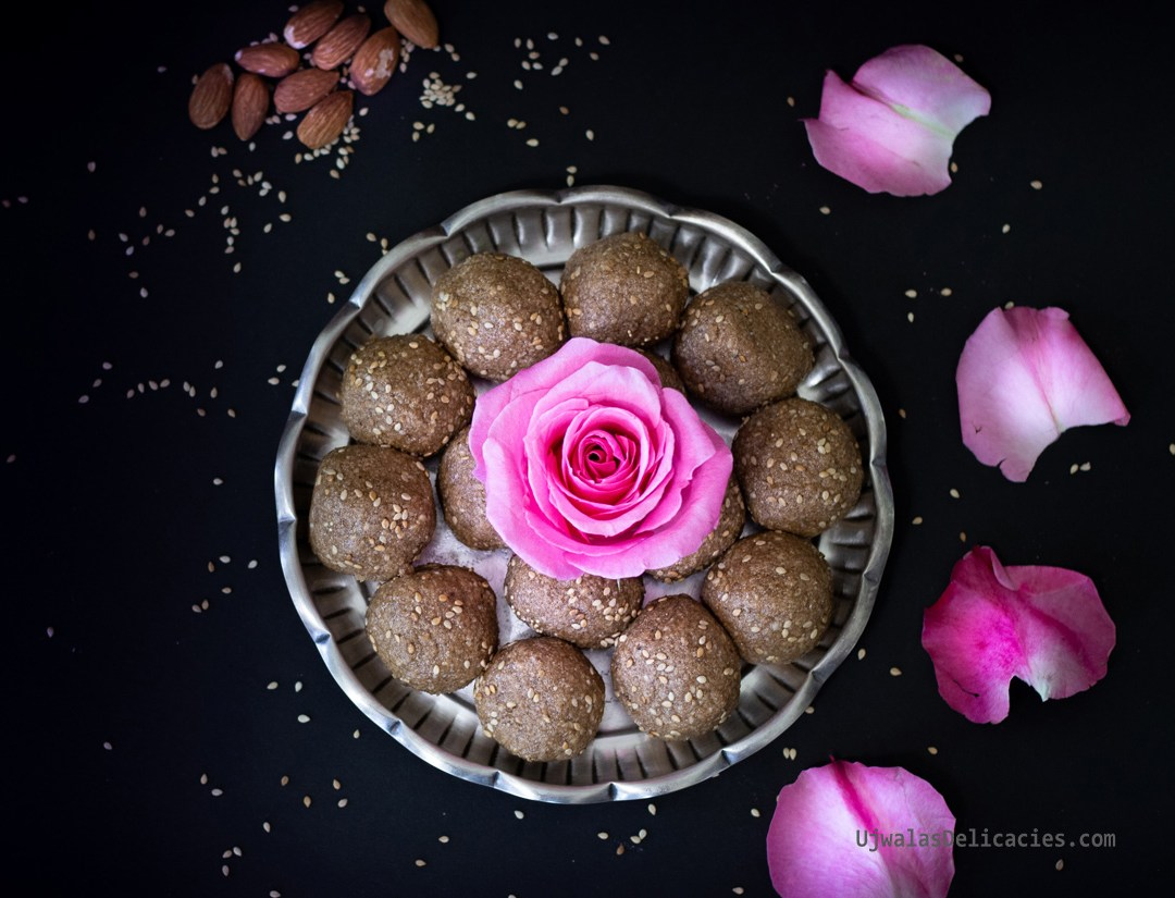Sesame, almond laddu for Sankranthi