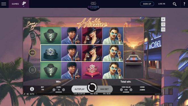Genesis Casino Hotline Slot