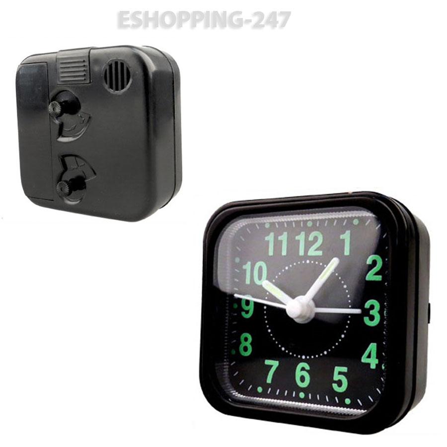 Beeper Alarm Clock Circuit With Radio