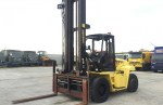 Used 2008 Hyster H10.00XM 10 ton LPG Forklift C/w Hyd fork positioners