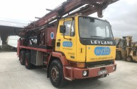 1990 Gryphon water Well Drill Rig mounted on Leyland 6×4 truck - UK-PlantTraders.com