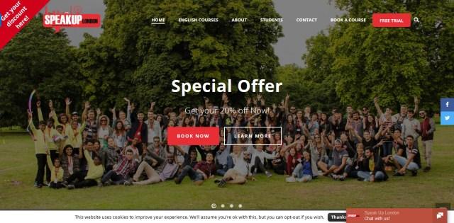 Screenshot 2018 10 16 English Language School in London Speak Up London - Join One of the 5 Best Language Schools in London