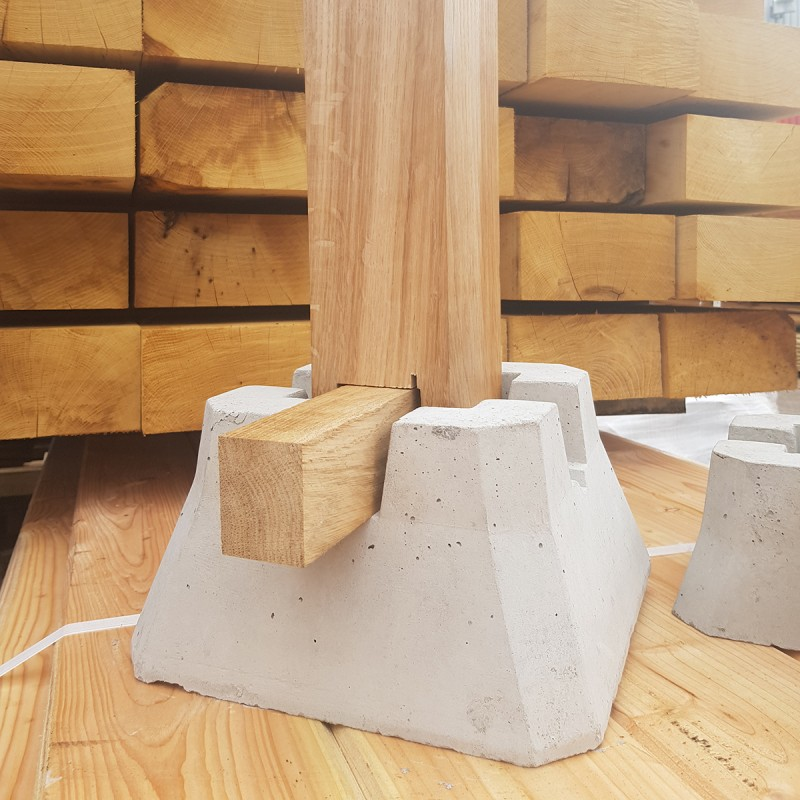 Concrete Deckin Blocks Buy Decking Components Online From The Experts At Uk Timber