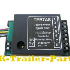 Trailer Lights Wiring Diagram 5 Way Simple Earthworm 7 Universal Bypass Relay | Uk-trailer-parts