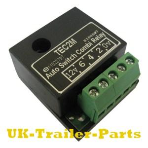 TEC2M Auto Switch Combi Relay wiring diagram | UKTrailer