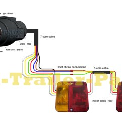 7 pin n type trailer plug wiring diagram uk trailer parts 7 pin trailer [ 1100 x 766 Pixel ]