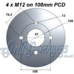 13 Pin Trailer Wiring Diagram Uk Vw Golf Working Out Pitch Circle Diameters (pcd) | Uk-trailer-parts