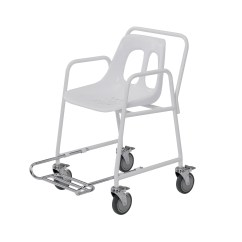 Foot Rests For Chairs Makeup Sydney Mobile Shower Chair With Footrest At Low Prices Uk
