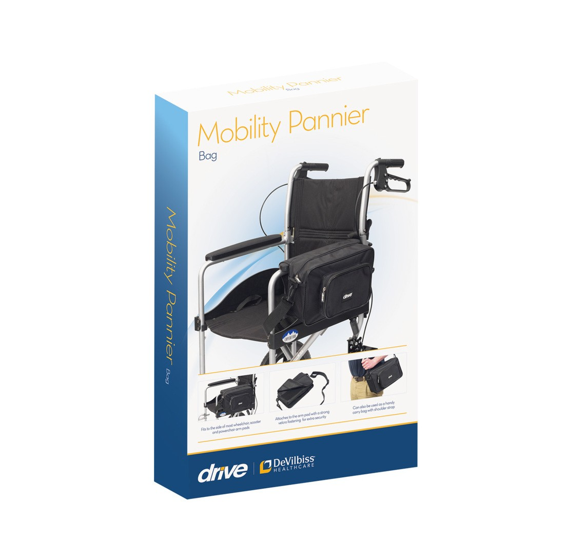 power chair accessories bags desk mesh back support wheelchair pannier bag at low prices uk wheelchairs