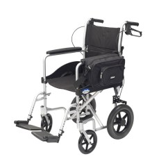 Power Chair Accessories Bags Green Leather Office Wheelchair Pannier Bag At Low Prices Uk Wheelchairs
