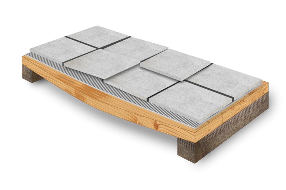 tiling onto wood weber uk