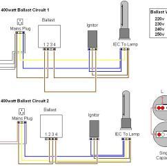 Hps Wiring Diagram With Capacitor Pruning A Plum Tree 400 Watt Ballast 35 Images Lighting Uk420