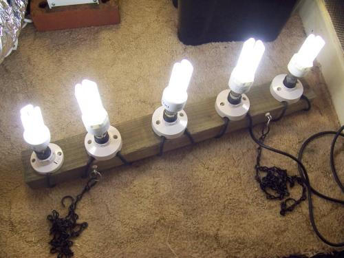 small resolution of wiring multiple cfl lamps to one power source lighting uk420 wiring a cfl grow light post