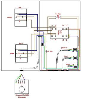 Variac Fan Control With Thermostat  DIY Kit  UK420