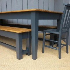 Kitchen Benches Cabinets Brands Antique Reclaimed Pine Bespoke Tables Made At Ukaa