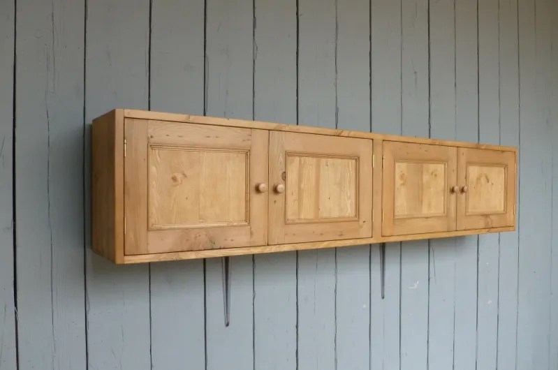 Reclaimed pine made to measure Wall Cupboard