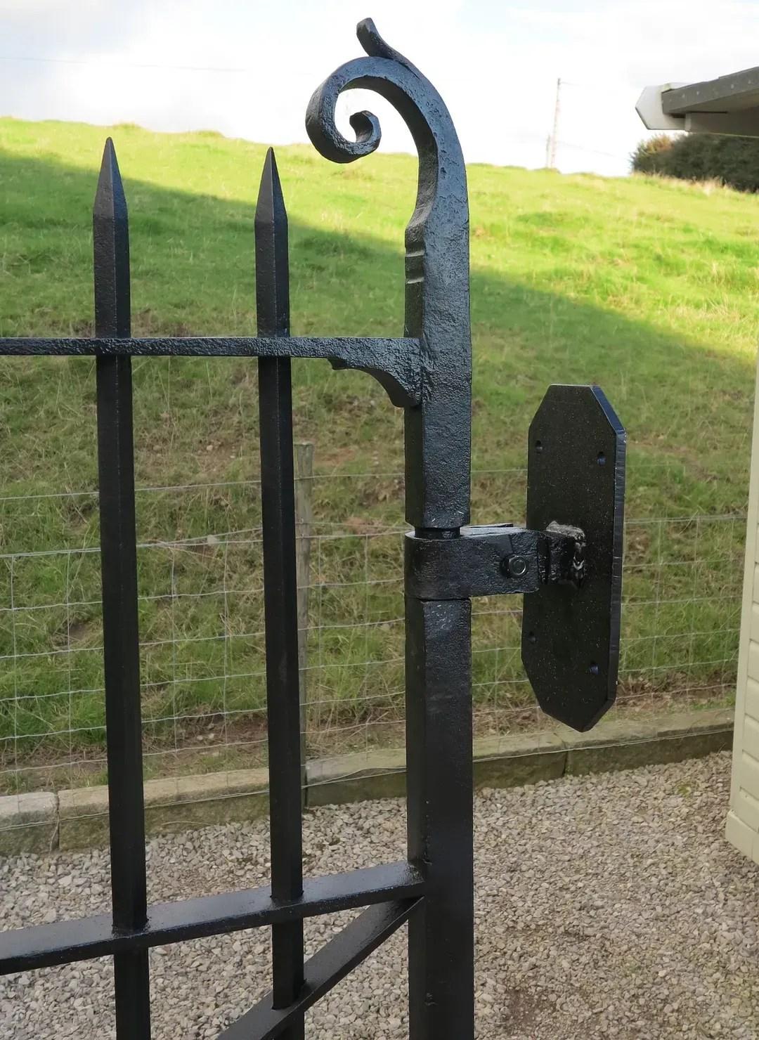 Building Garden Gate Door