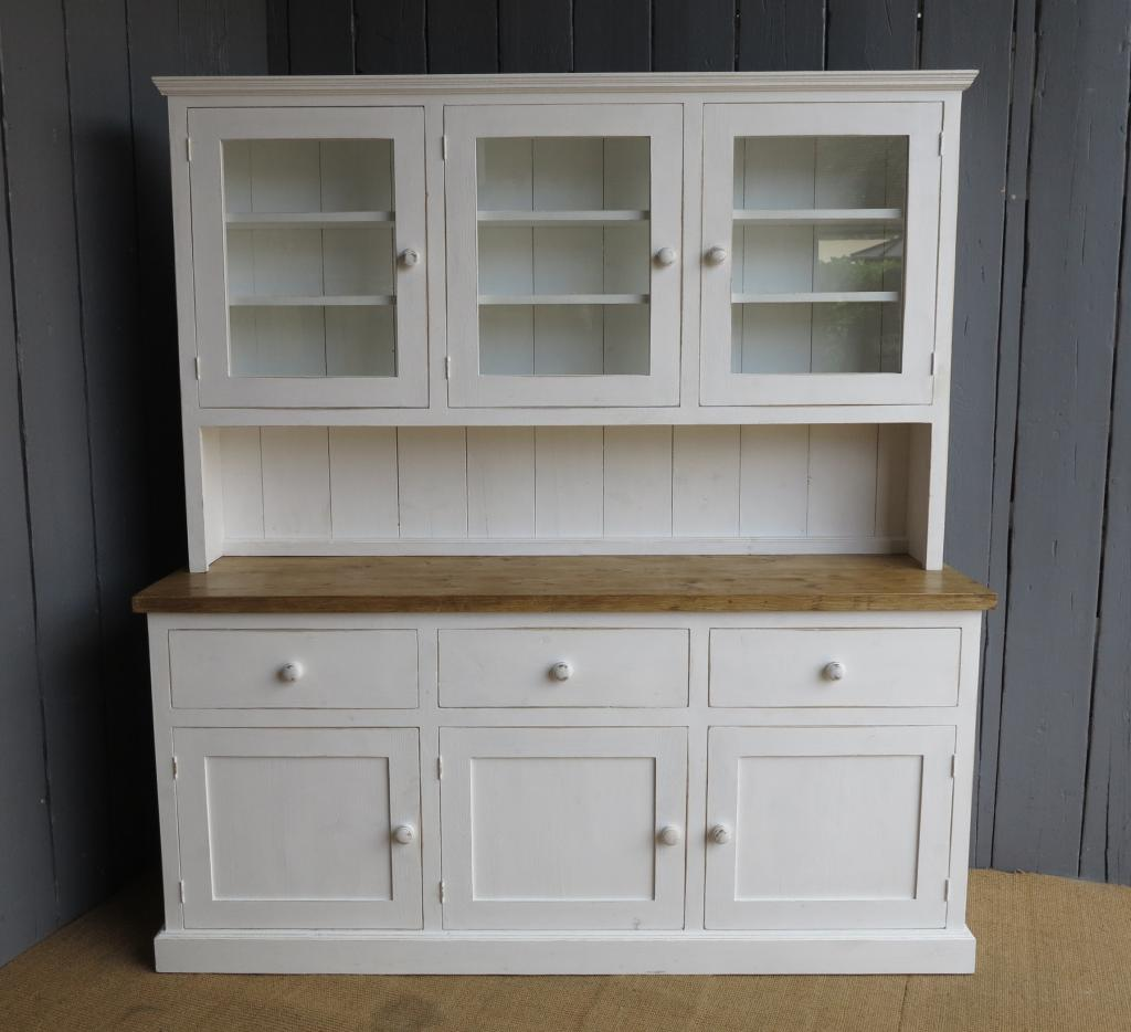 kitchen dresser 60 inch sink base cabinet handmade wooden dressers made to your sizes measure reclaimed pine order in here our workshops