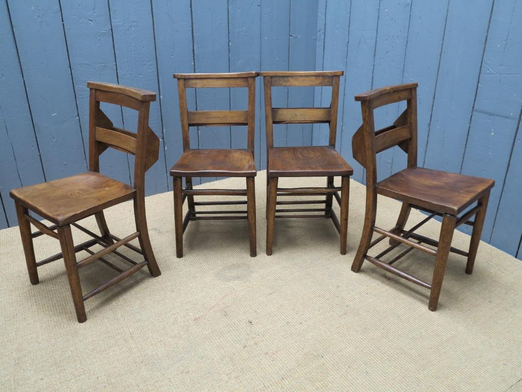 used kitchen chairs flip zone chair antique wooden seated seats dining chapel