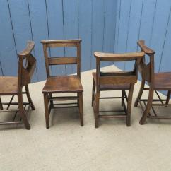 Used Kitchen Chairs Glider Rocking Chair Canada Antique Wooden Seated Seats Dining Chapel