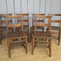Used Kitchen Chairs Round Chair Couch 15 Available Antique Church Dining