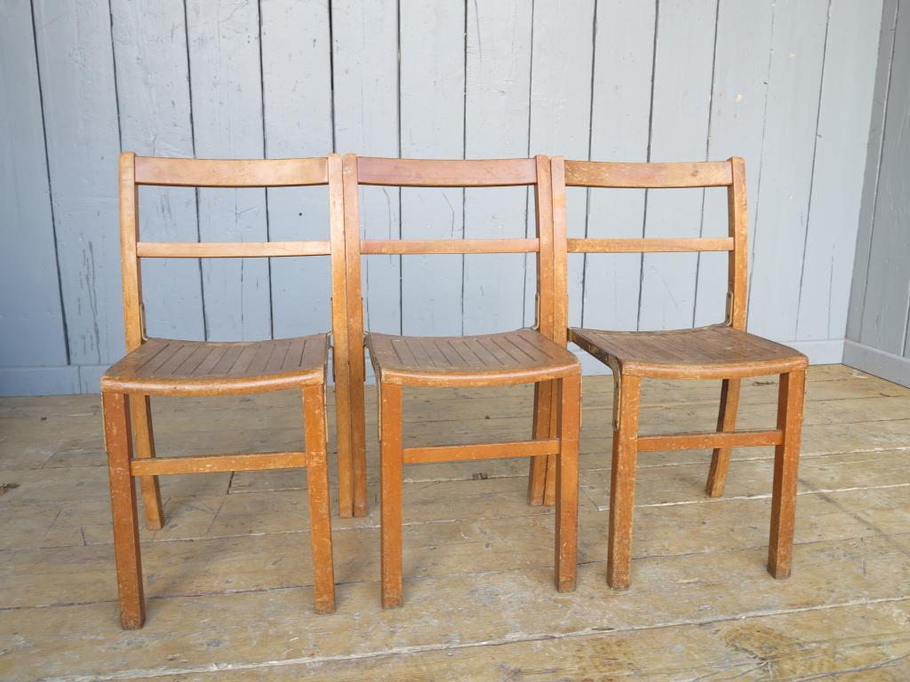 used kitchen chairs gym chair as seen on tv 42 available vintage wooden reclaimed stacking