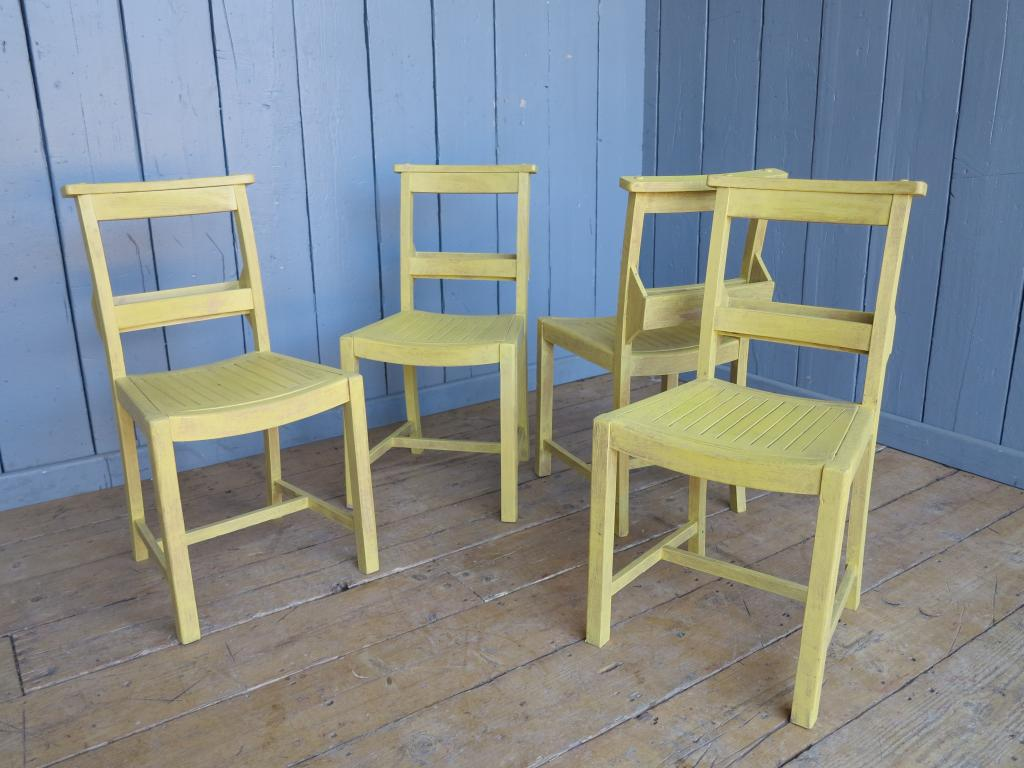 used kitchen chairs swing chair toddler set of 4 hand painted and distressed church