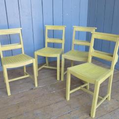 Church Chairs Direct Ergonomic Chair Guitarists Set Of 4 Hand Painted And Distressed Kitchen