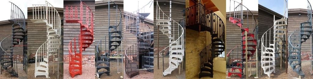 Spiral Staircase And Stairs For Sale In The Uk   Outdoor Metal Spiral Staircase For Sale   Wooden Staircases   Dipped Galvanized   Wrought Iron   Railing Design   Cast Iron