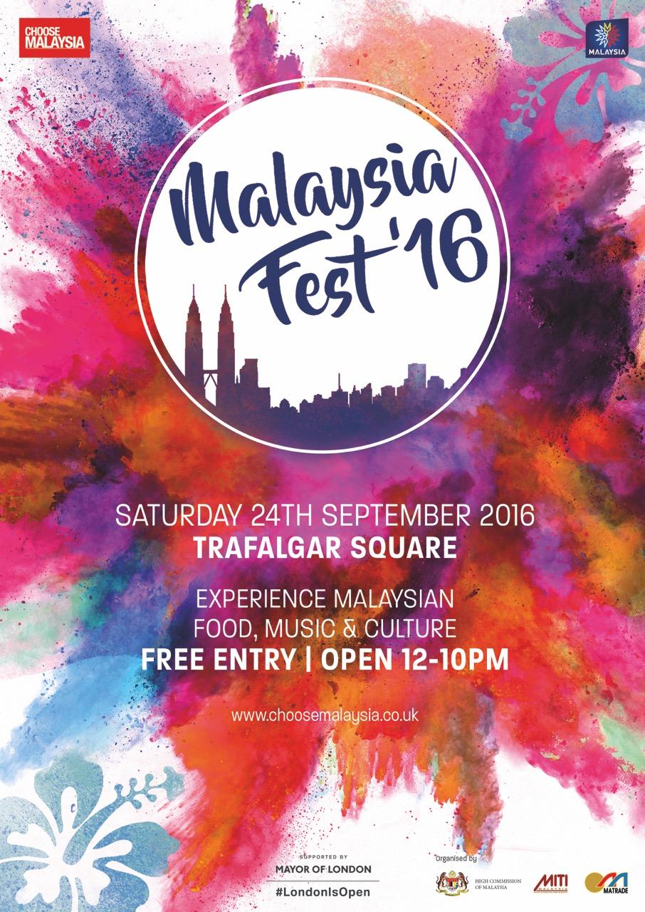 Malaysia Fest'16 At Trafalgar Square UKABC