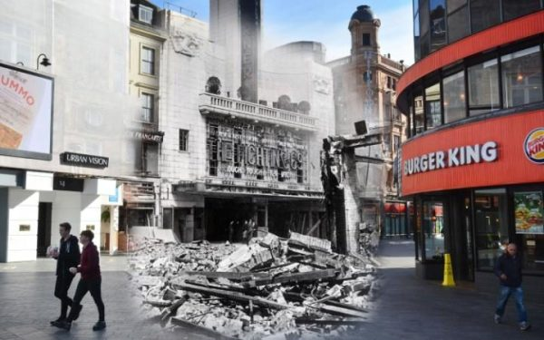 3 mai 1941, Leicester Square