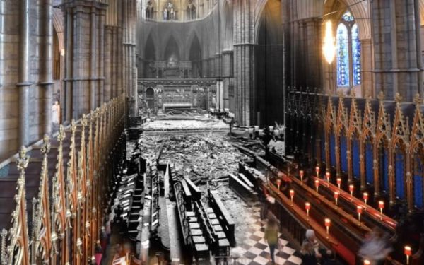 May 1941, Westminster Abbey