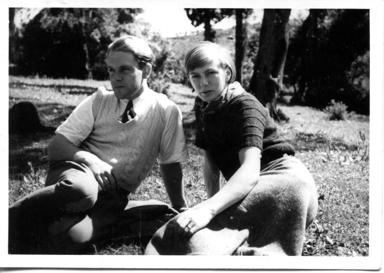 Lawrence et Nancy Durrell dans les années 1930