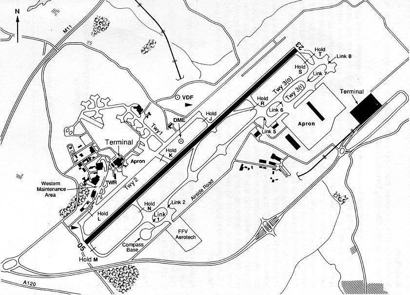 Stansted in 1993