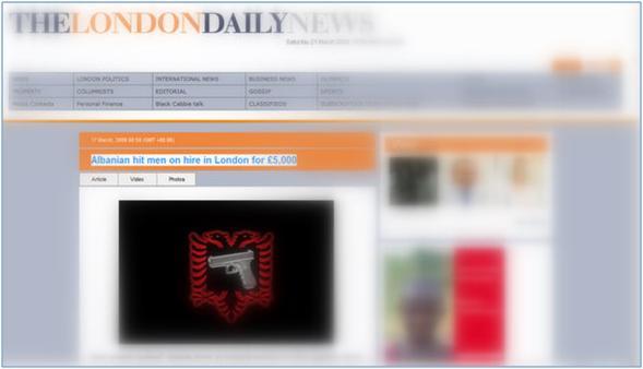 Vrasësit kontraktues shqiptarë Londër
