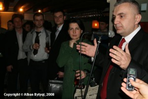 Ilir Meta ne Londer 2008