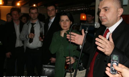 Ilir Meta, to speak at the LSE – 11 March 2009