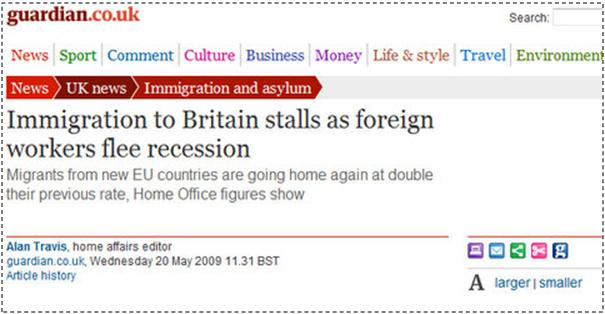 Imigrantët po ikin nga Britania