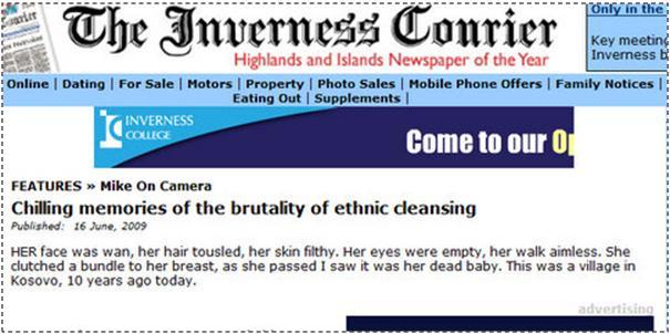 Memorie të tmerrshme të brutalitetit të pastrimit etnik