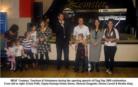 MEAF: a big thank you to 28 November celebration participants