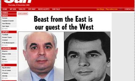 The Sun: Bisha nga Lindja mysafir i yni në Perëndim