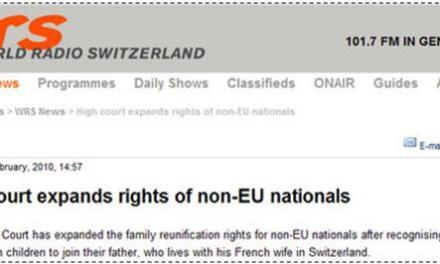 Me shumë të drejta për imigrantët në Zvicër