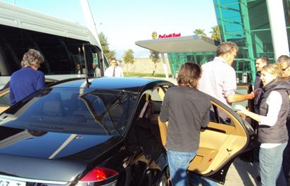 Jeremy Clarkson i Top Gear bën emision në Shqipëri