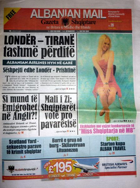 Del Albanian News, gazetë e re e komunitetit