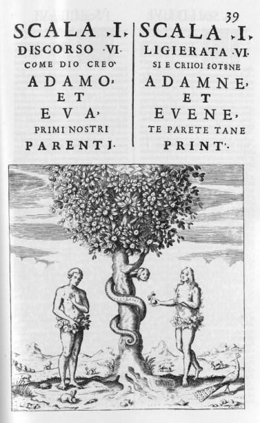The (Old) Albanian language is also being researched using the story of Adam & Eve. This story is included in the Old Albanian sources being analysed as part of an FWF project (left: Italian, right: Albanian).
