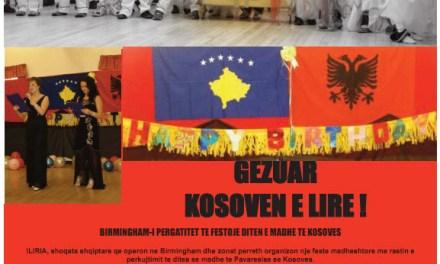 Gëzuar Kosovën e lirë! – Festim ne Birmingham me 19 shkurt 2011