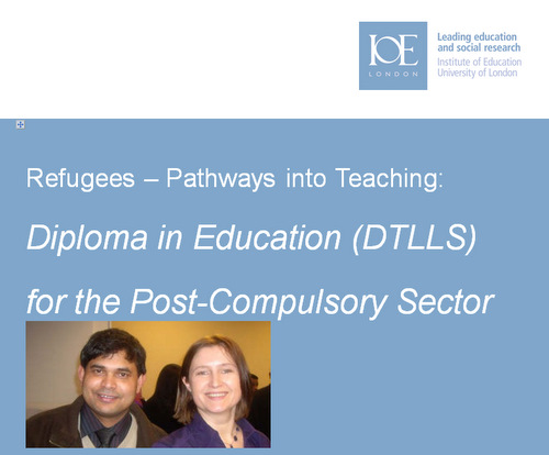Refugees – Pathways into Teaching