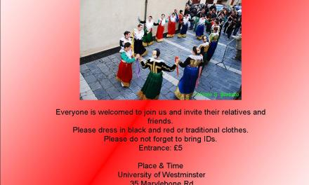 <!--:en-->Civita party at the University of Westminster – 27th April 2011<!--:-->