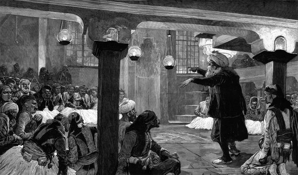 League of Prizren, illustrated by Woodville for London Illustrated News, 1878